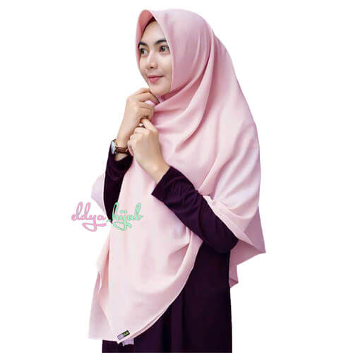 jilbab segi empat jumbo