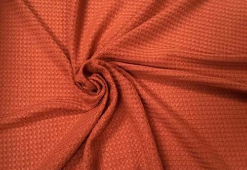 contoh kain waffle spandex 500x345 - Bahan WAFFLE seperti apa? Contoh gambar dan karakteristik kain waffle