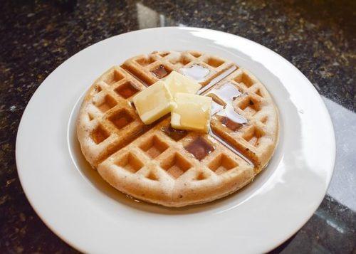 penjelasan kain waffle 500x357 - Bahan WAFFLE seperti apa? Contoh gambar dan karakteristik kain waffle